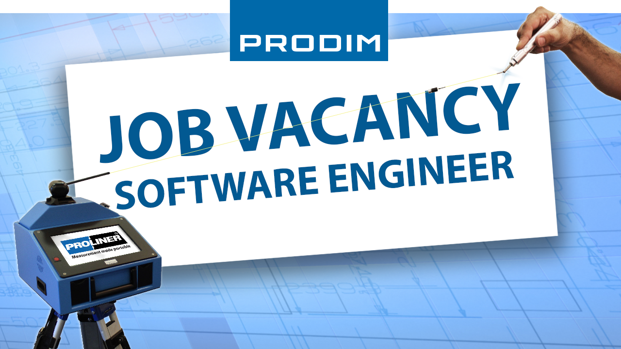 Prodim job vacancy - Software Engineer