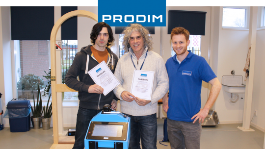 Prodim Proliner user Alpha Glass London