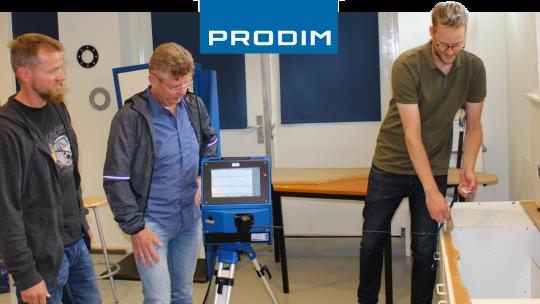 Prodim Proliner user Brudgam