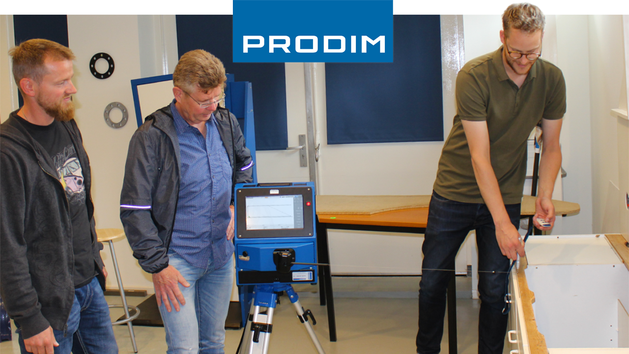 Prodim Proliner user Brudgam
