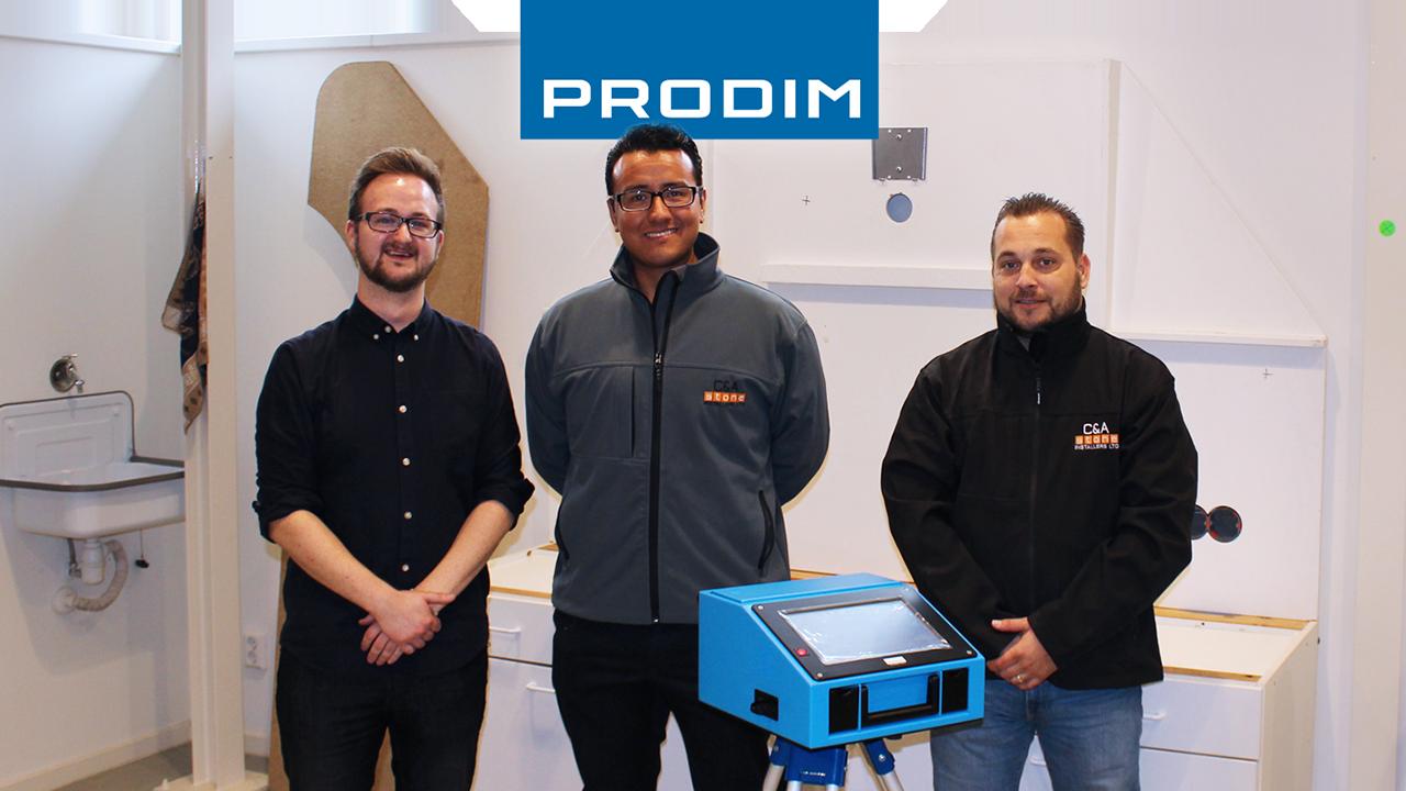 Prodim Proliner user C&A Stone installers