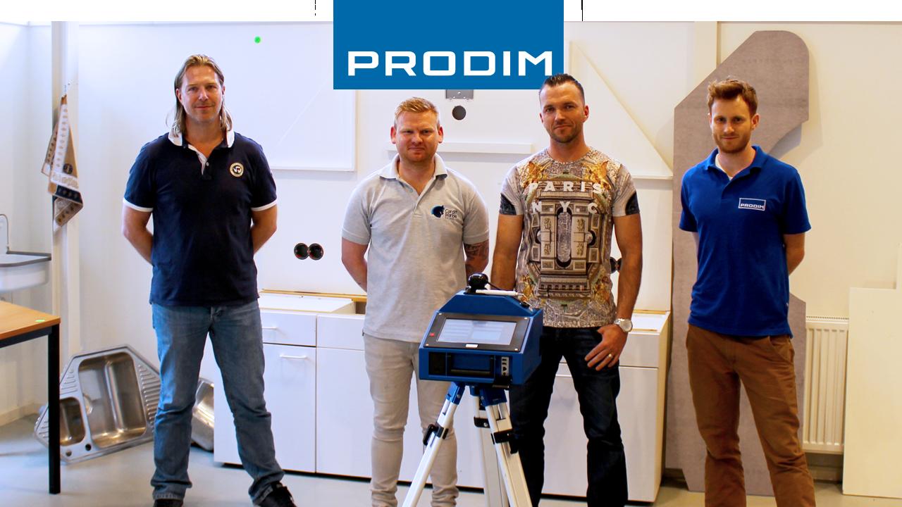 Prodim Proliner user Cardiff Marble