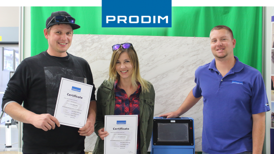 Prodim Proliner user Euro Marble Supply Store