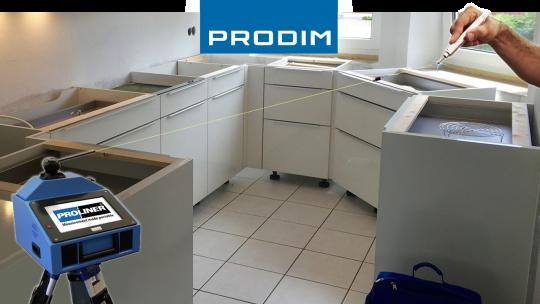 Prodim Proliner user Meier Natursteinbetrieb - Kitchen without installed countertop