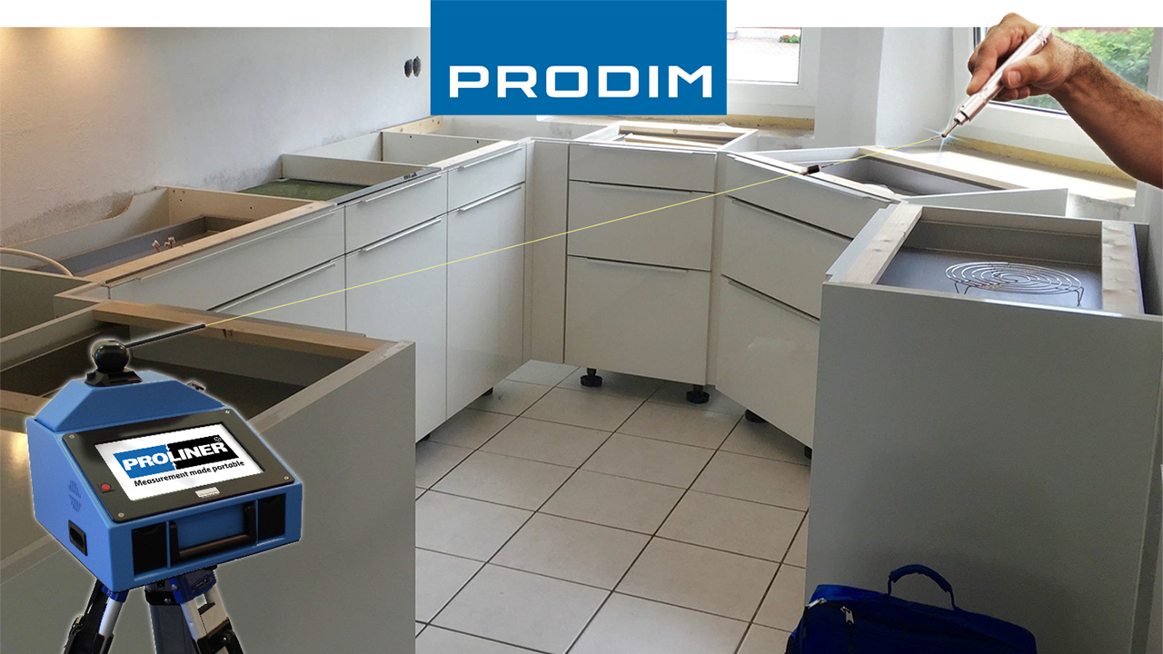 Prodim Proliner user Meier Natursteinbetrieb - Kitchen without installed countertop