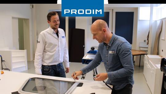 Prodim Proliner user Rhigo