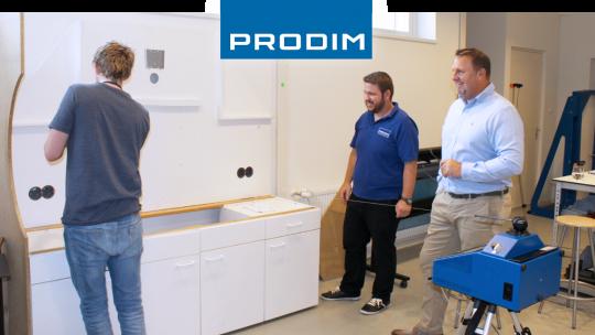 Prodim Proliner user Royston Glass