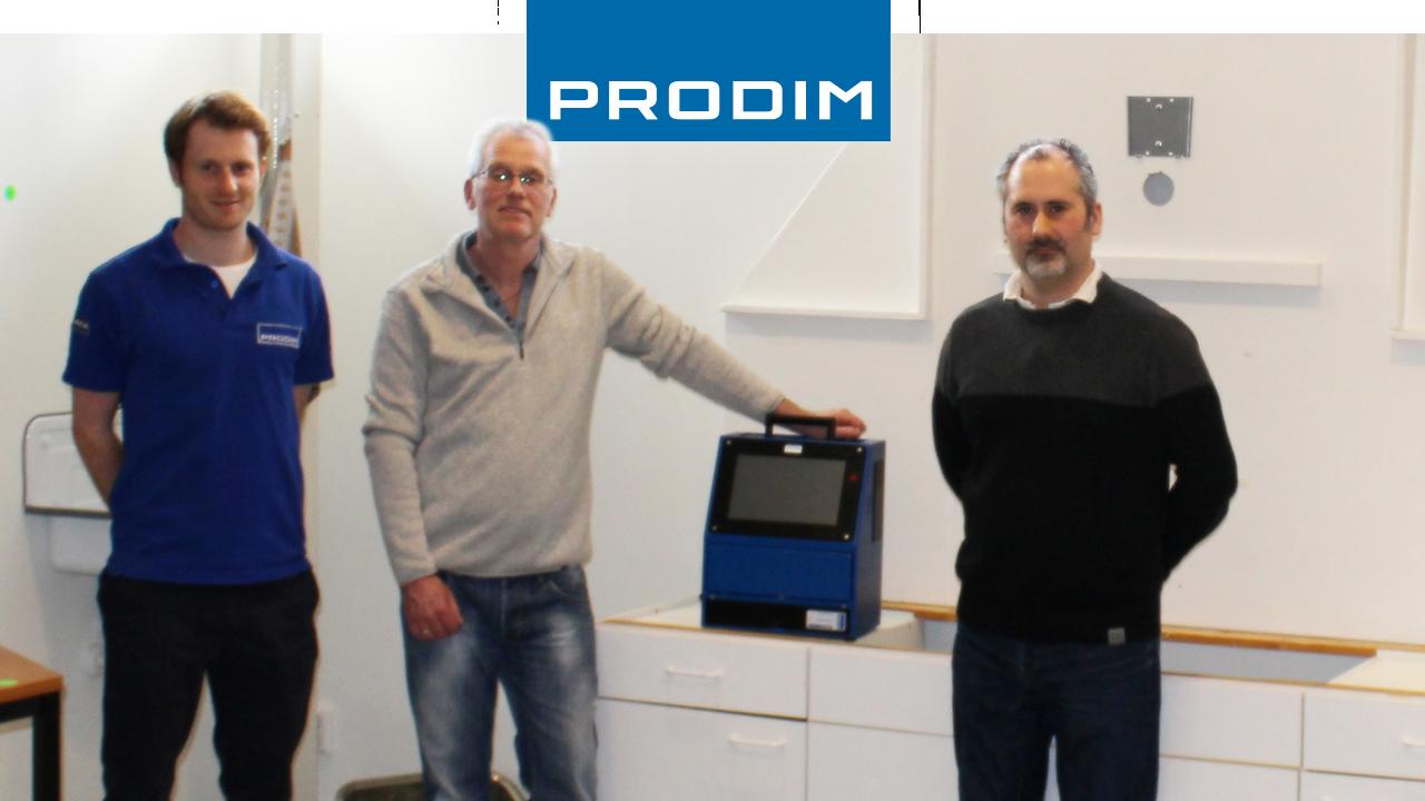 Prodim Proliner user Stonerite