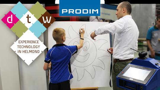 Prodim exhibiting at Dutch Technology Week 2016