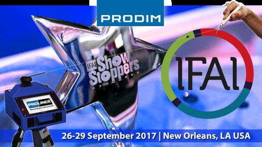 Prodim exhibiting at IFAI Industrial Fabrics Expo 2017