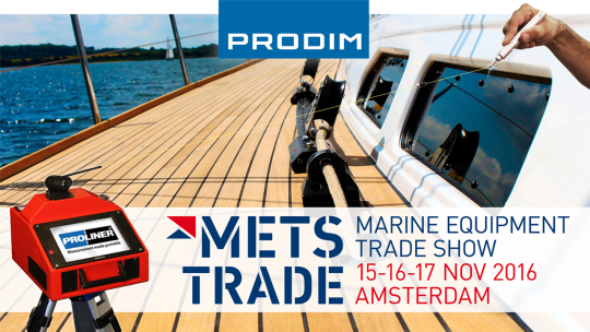 Prodim exhibiting at METSTRADE 2016