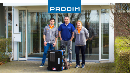 Prodim partner of Nuon Solar Team
