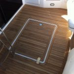 Templating a teak-deck with the Proliner