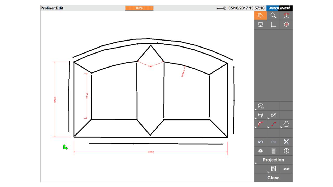 Screenshot - Prodim Proliner CT software - Door & Window