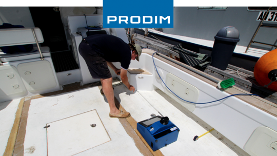 Prodim Proliner digital templating teak deck