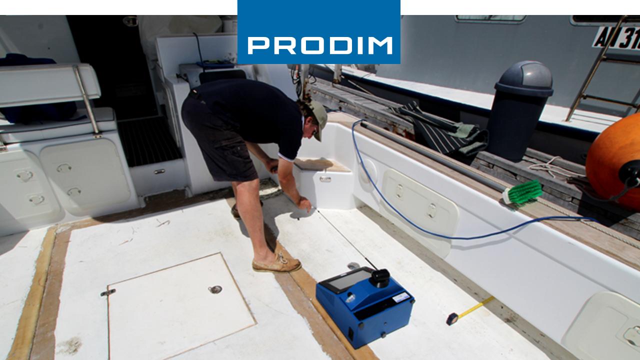 Prodim Proliner digital templating teak deck