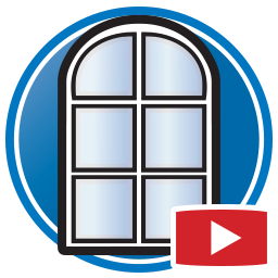 Button to watch Proliner videos of digital templating windows