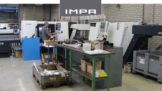 IMPA Precision - Turning machinery with driven tools