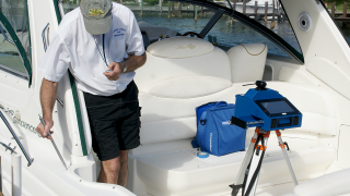 Prodim Proliner IPT - Used in the Marine industry for measuring hard-to-reach points