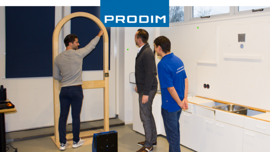Prodim Proliner user Potteau Labo