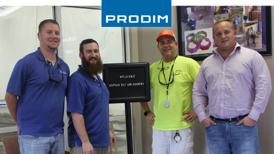 Prodim Proliner user Captain Bly Low County
