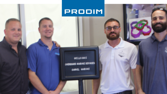 Prodim Proliner user Carvel Marine