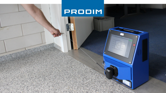 Prodim Proliner measuring doors
