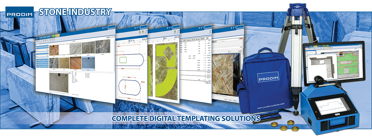 Slider of Prodim Proliner Digital templating solutions for the stone industry