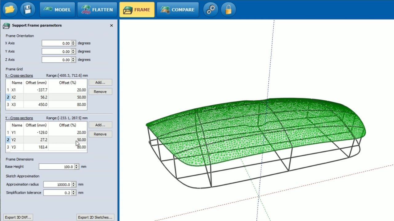 Prodim Bent Glass industry solutions - Software