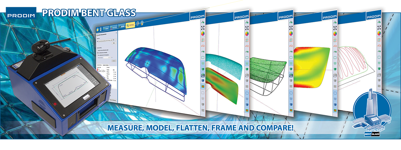 Slider of Prodim Bent Glass software. Click to visit the webpage for more information
