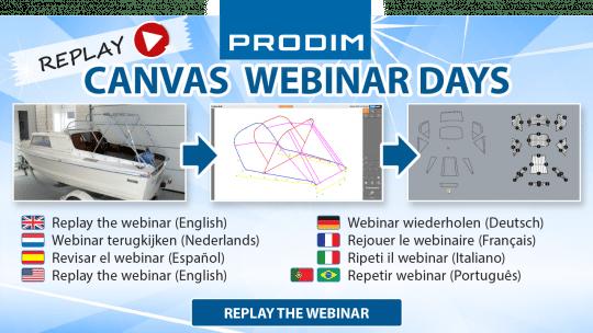 Prodim Canvas Webinar Days - May 2021 - Replay the Webinars