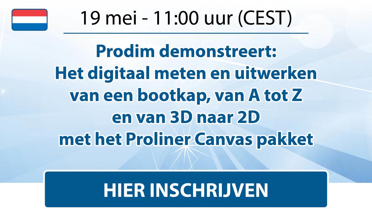 Prodim - Canvas Webinar - May 2021 - Dutch - Register here