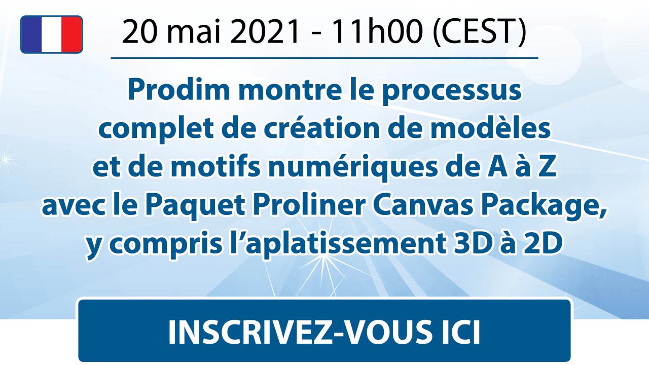 Prodim - Canvas Webinar - May 2021 - French - Register here
