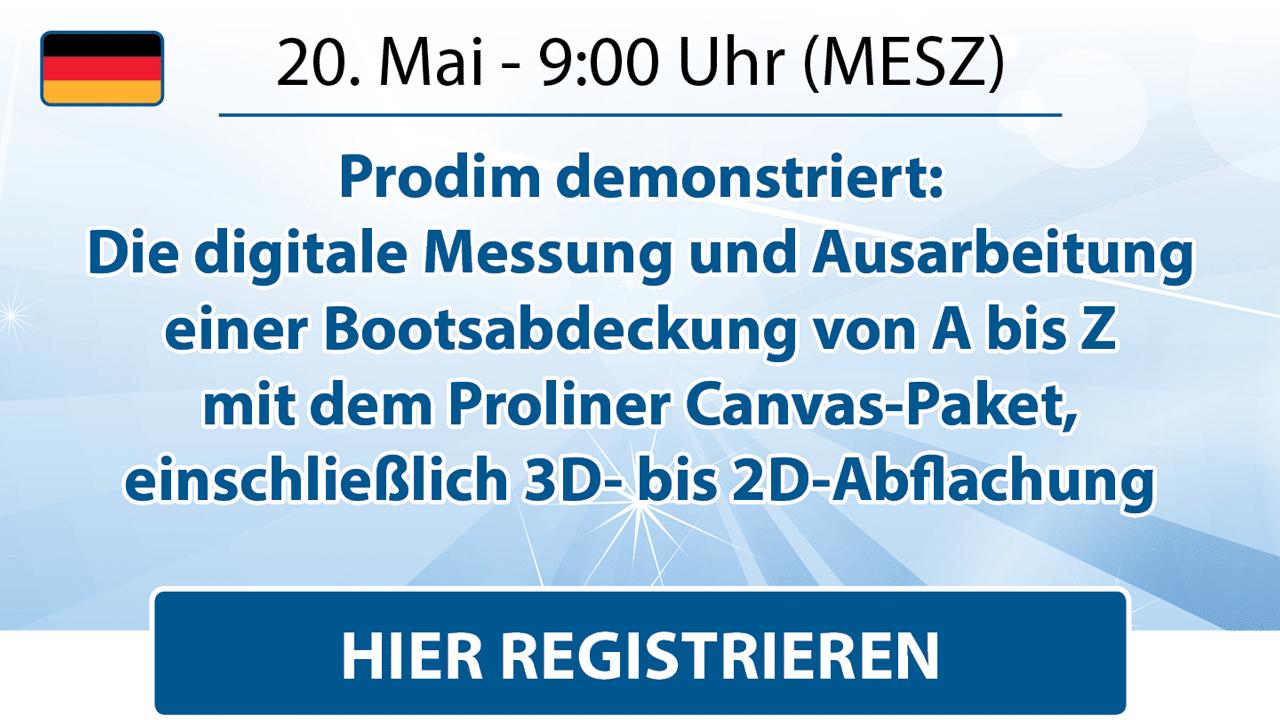 Prodim - Canvas Webinar - May 2021 - German - Register here
