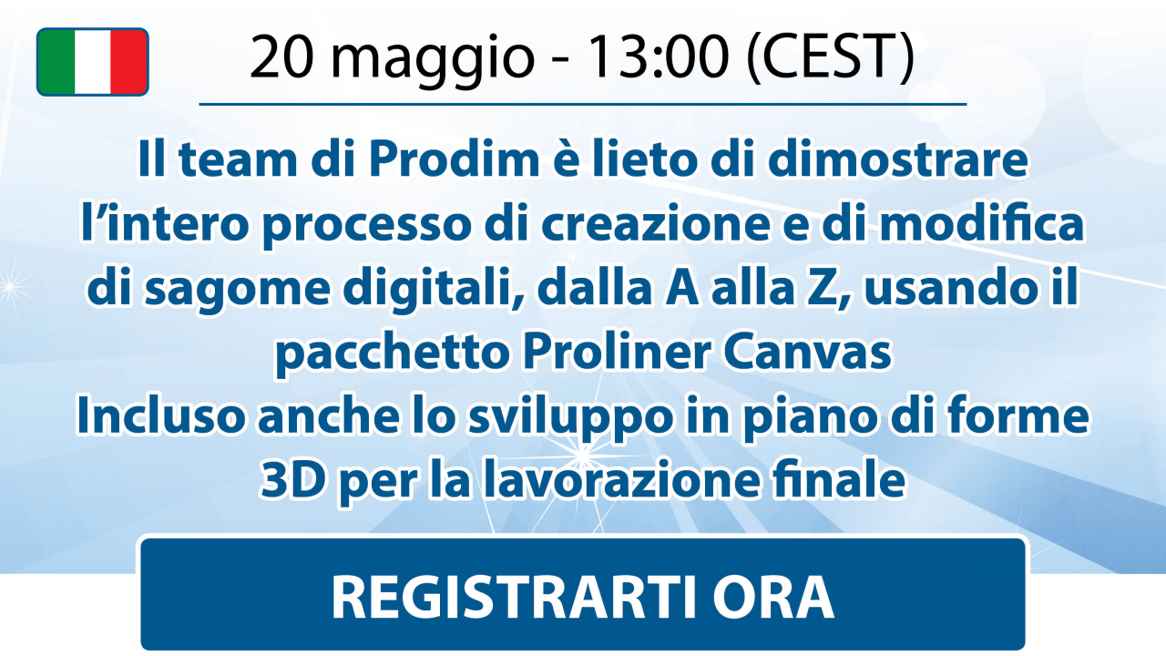 Prodim - Canvas Webinar - May 2021 - Italian - Register here
