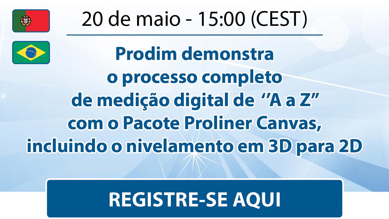 Prodim - Canvas Webinar - May 2021 - Portuguese - Register here