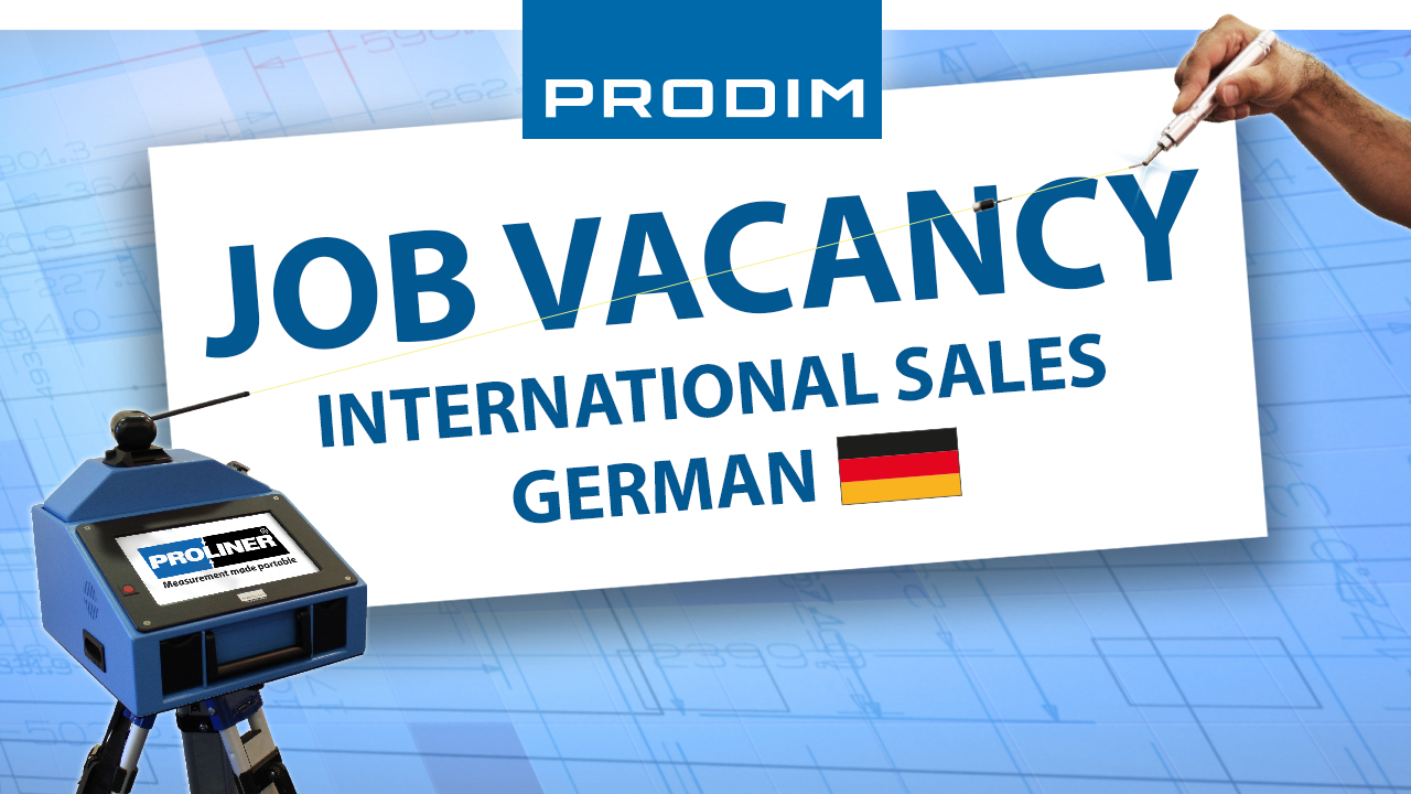 Prodim Job Vacancy - International Sales German