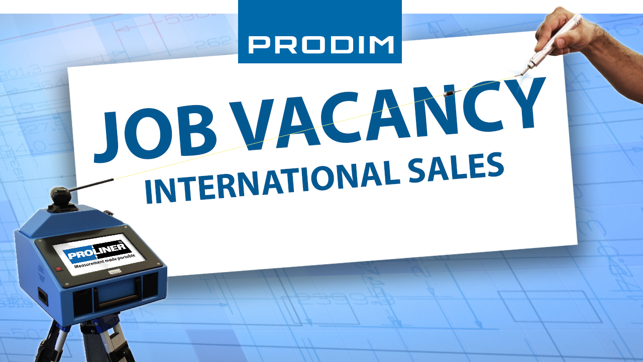 Prodim Job Vacancy - International Sales