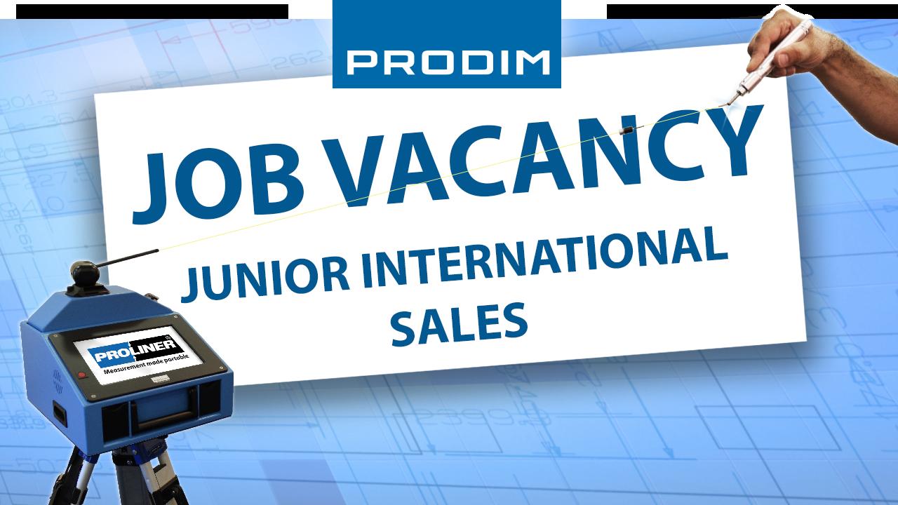 Prodim Job Vacancy - Junior International Sales