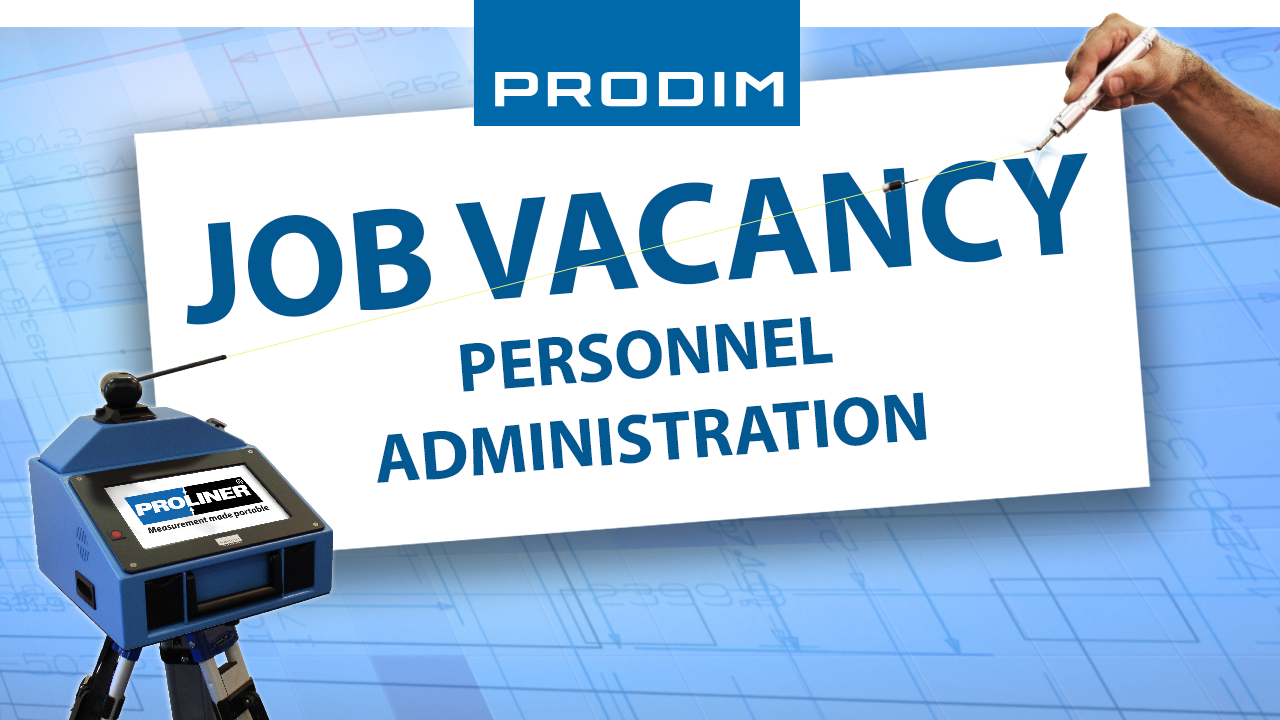 Prodim job vacancy - Personnel administration