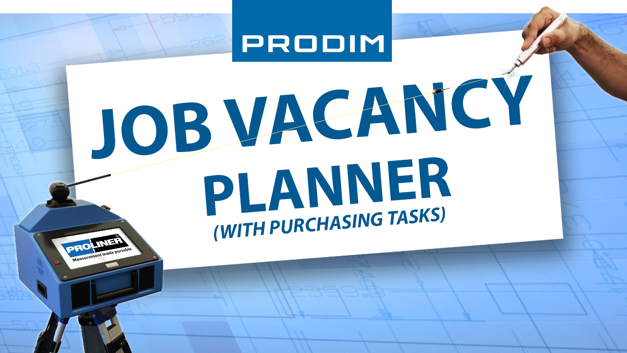 Prodim job vacancy - Planner with purchasing tasks