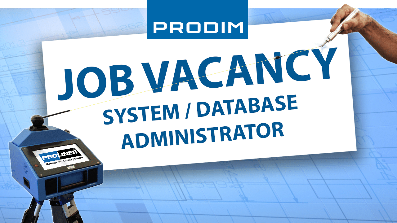 Prodim job vacancy System Database Administrator