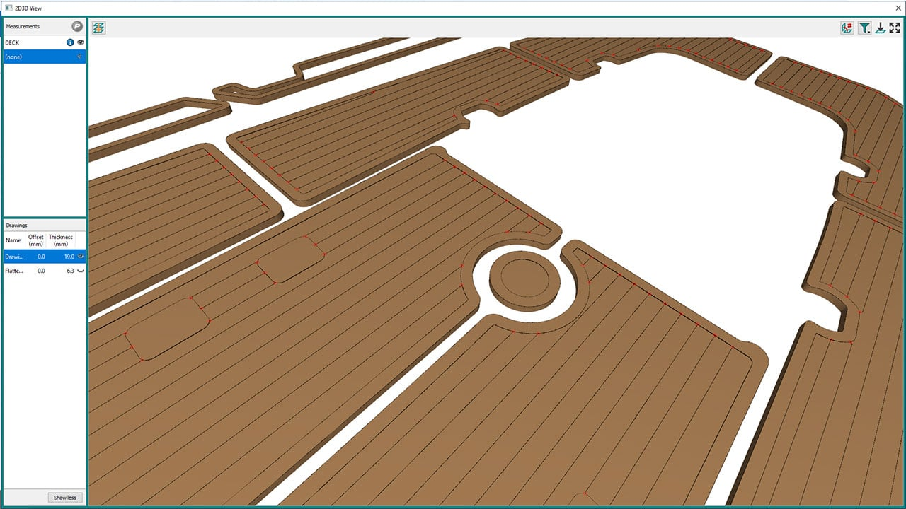 Prodim Marine industry solutions - Factory Decking Software