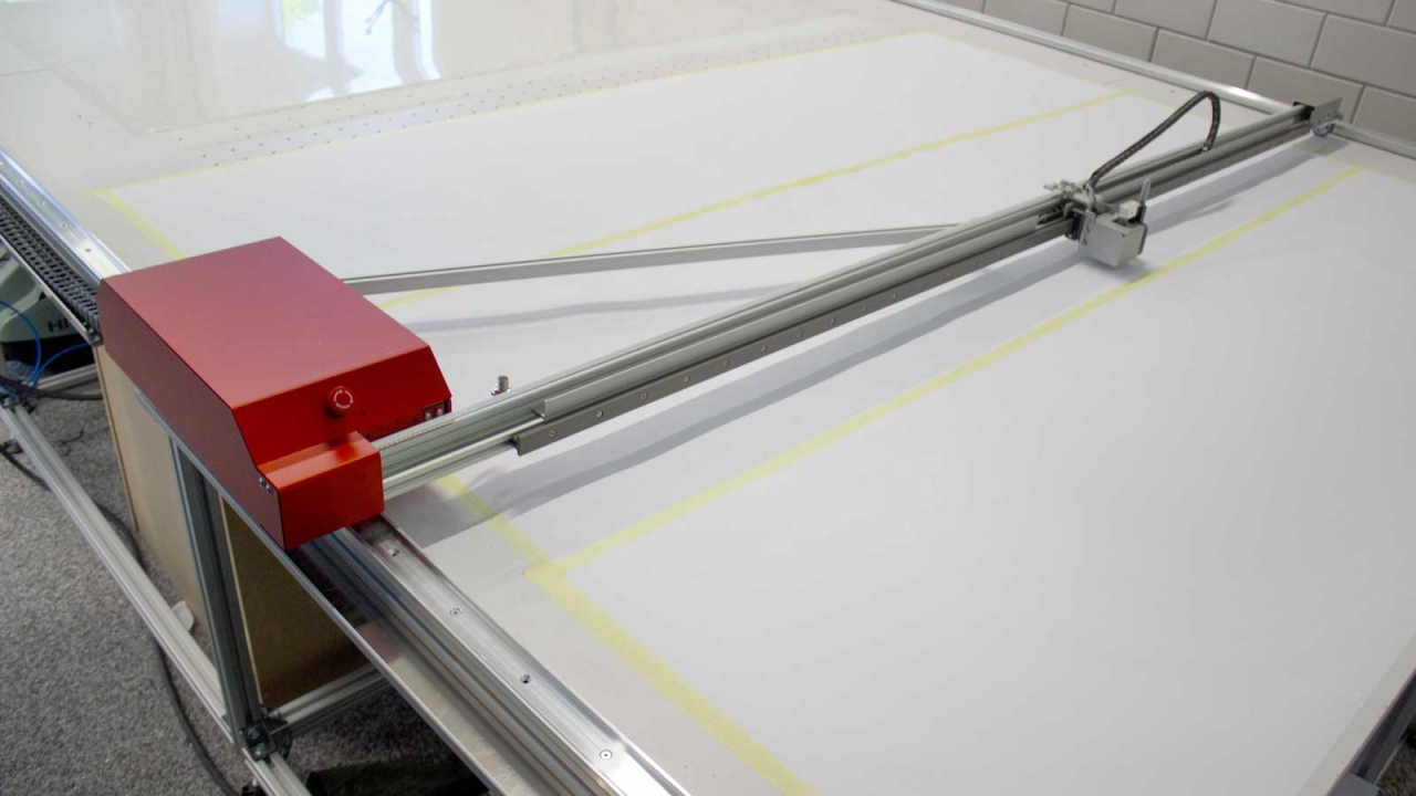 Overview image of the Prodim Plotter
