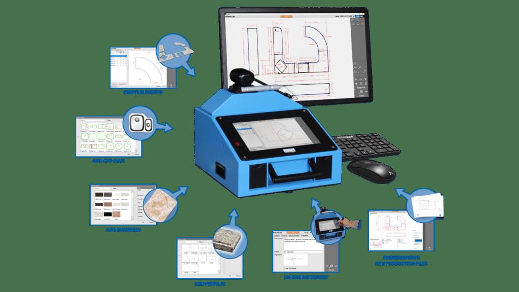 Prodim Proliner - Stone CT software