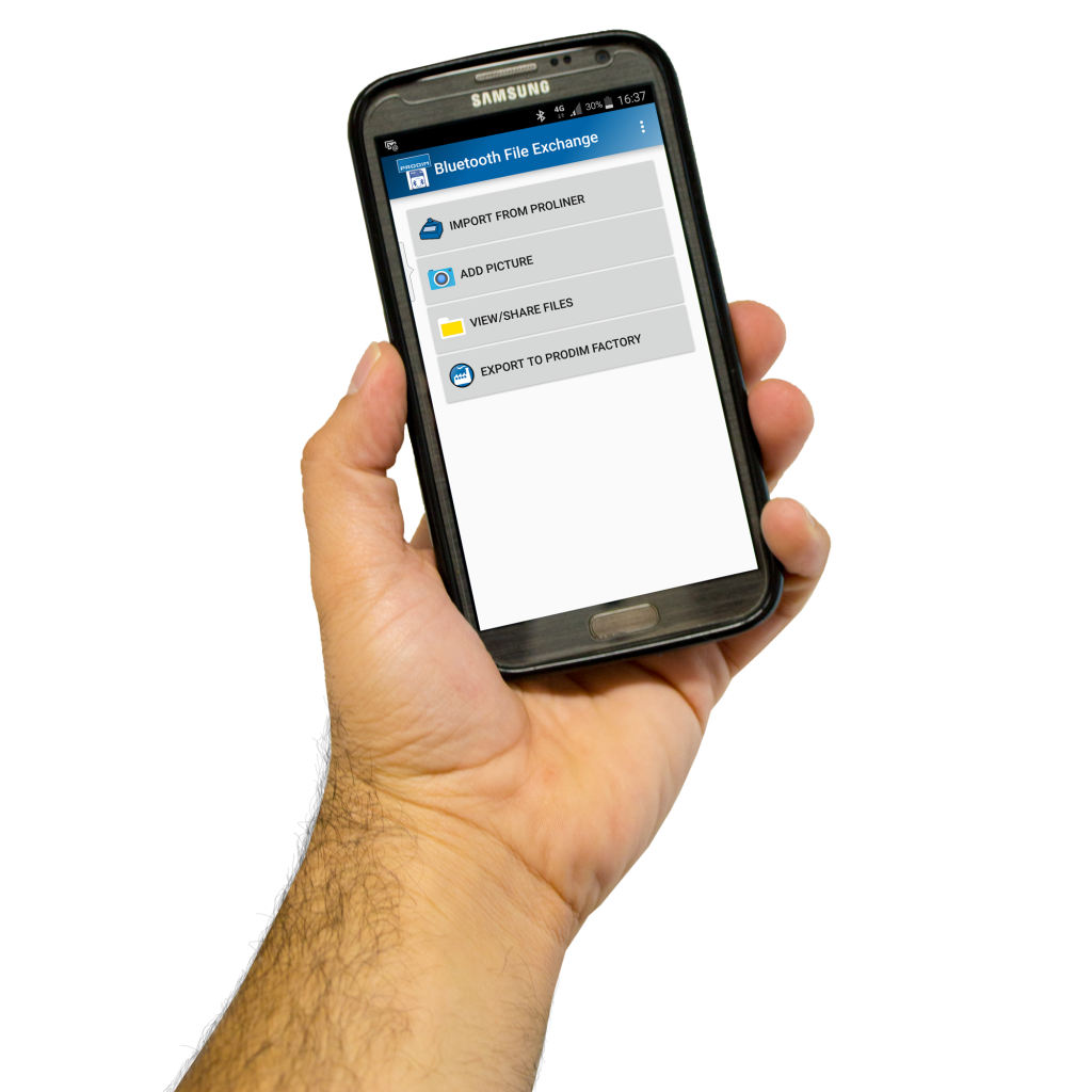 Prodim Proliner smartphone apps