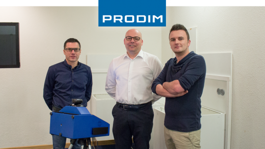 Prodim Proliner user Betonfabriek Coeck