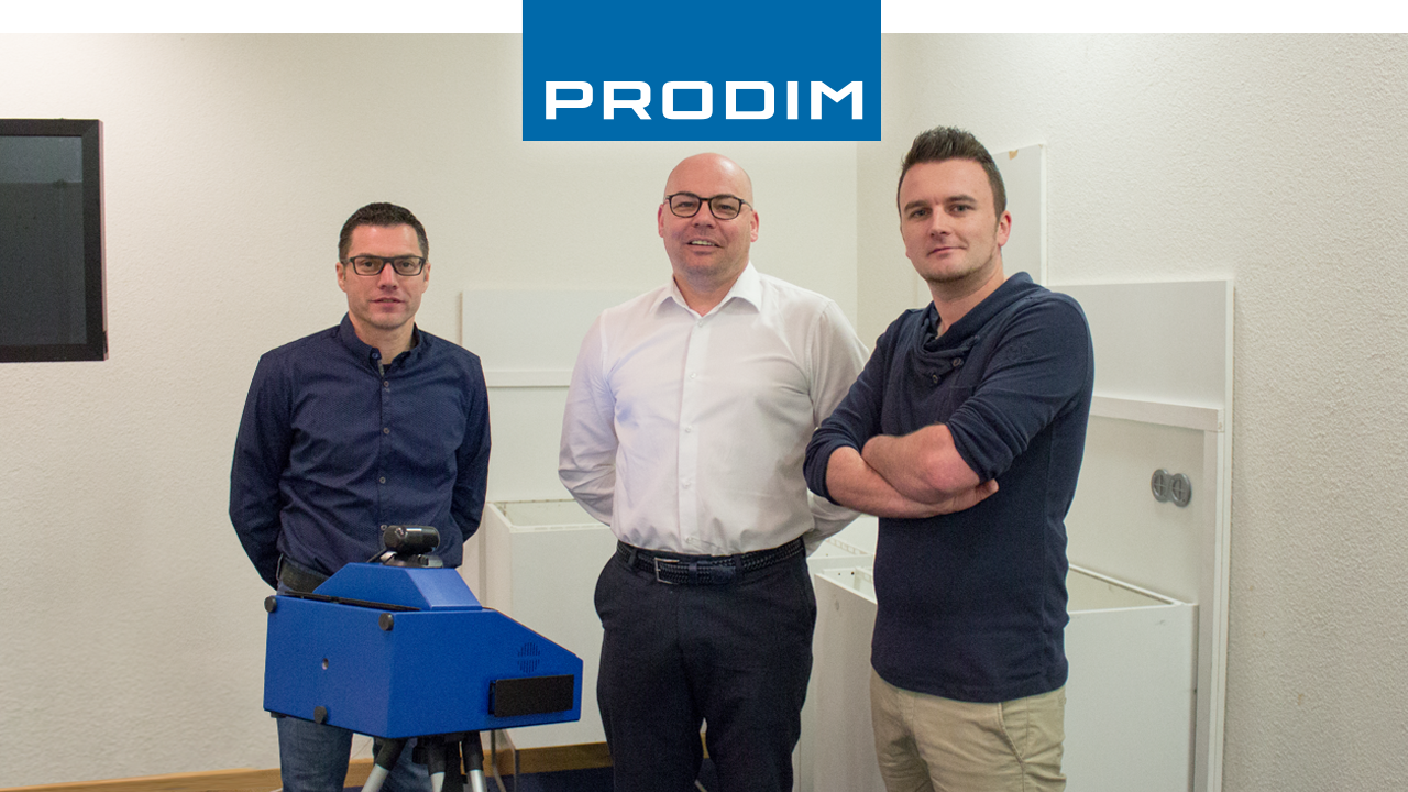 Prodim Proliner user Betonfabriek Coeck
