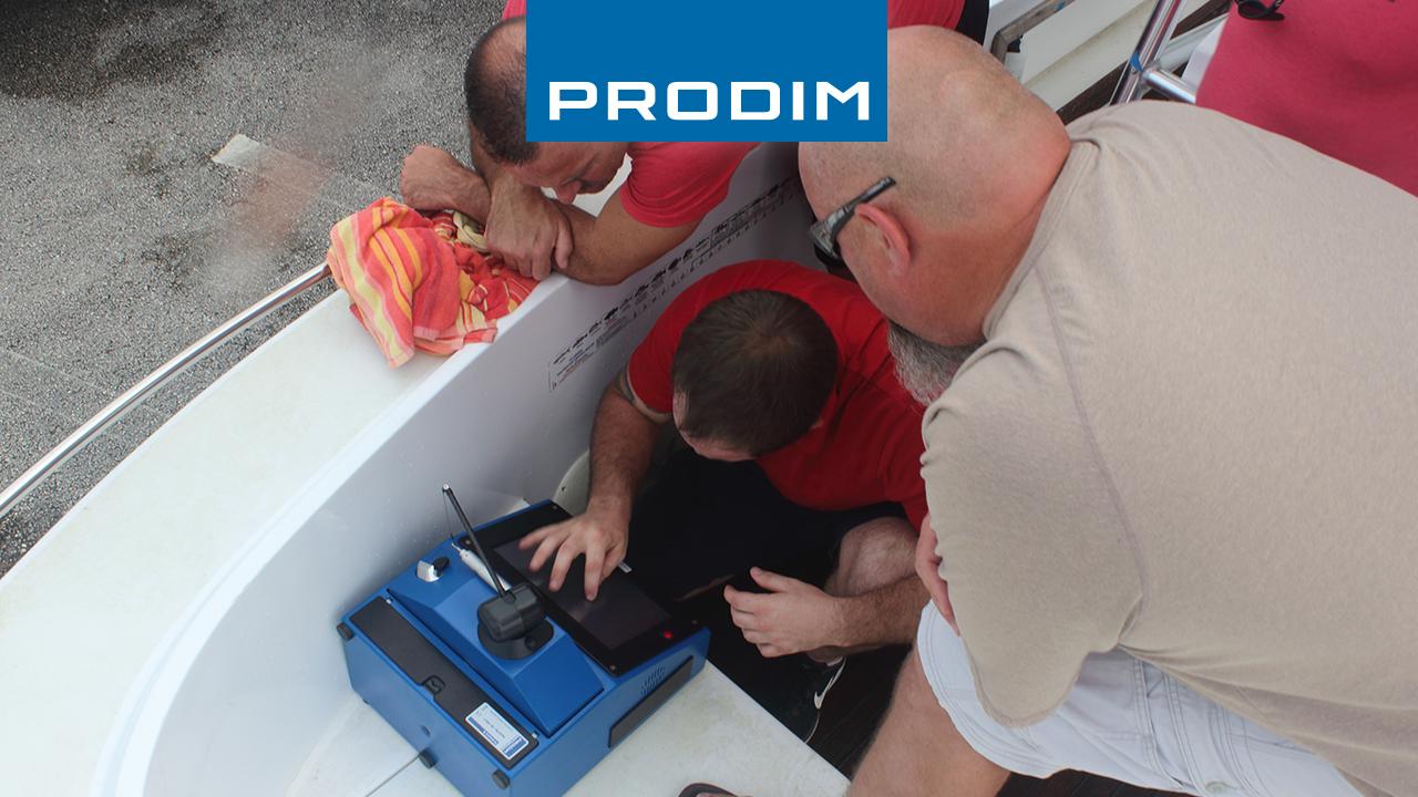 Prodim Proliner user Big Deck Marine Customs