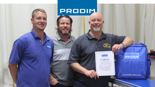 Prodim Proliner user Canadian Yacht Tops